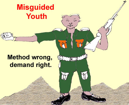 Misguided youth