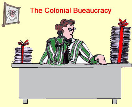 The Colonial Bureaucracy